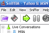 SniffIM Yahoo and MSN Sniffer